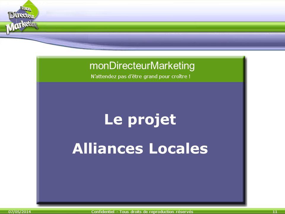 Le projet Alliances Locales