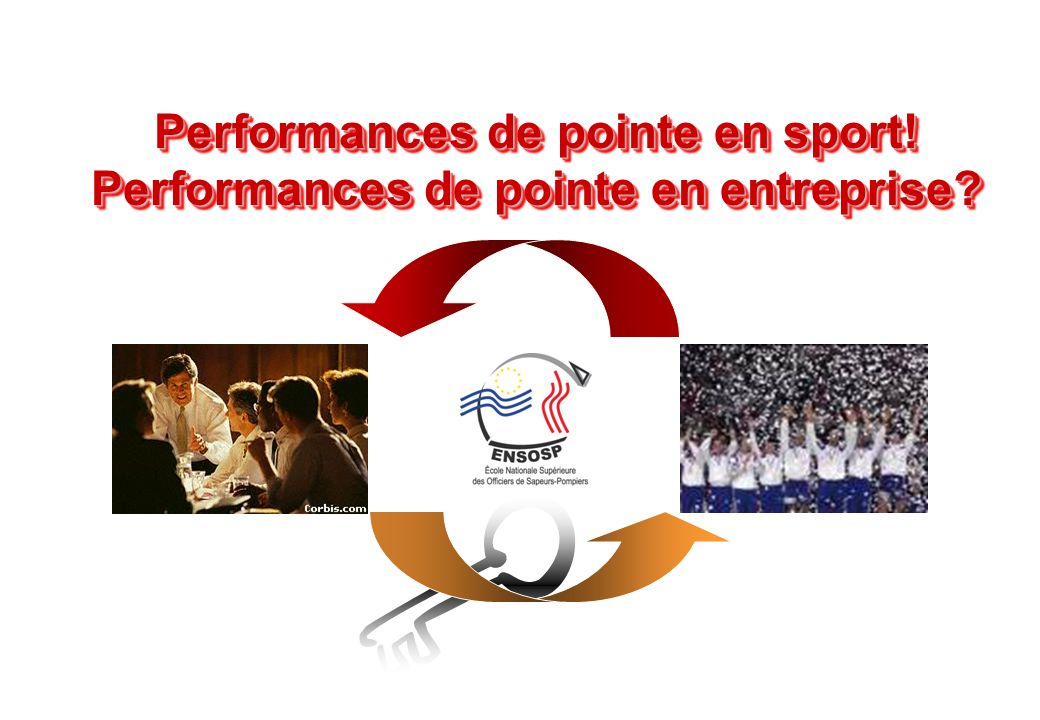 Performances de pointe en sport! Performances de pointe en entreprise