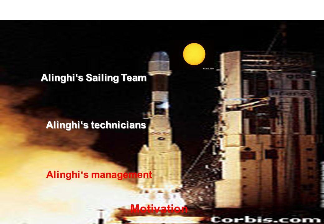 Alinghi's technicians