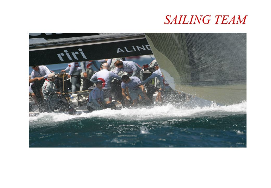 SAILING TEAM 32 navigateurs / 15 nations