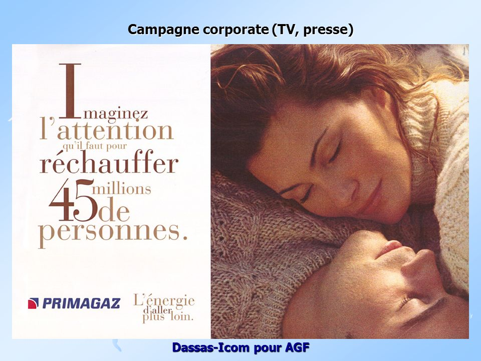 Campagne corporate (TV, presse)