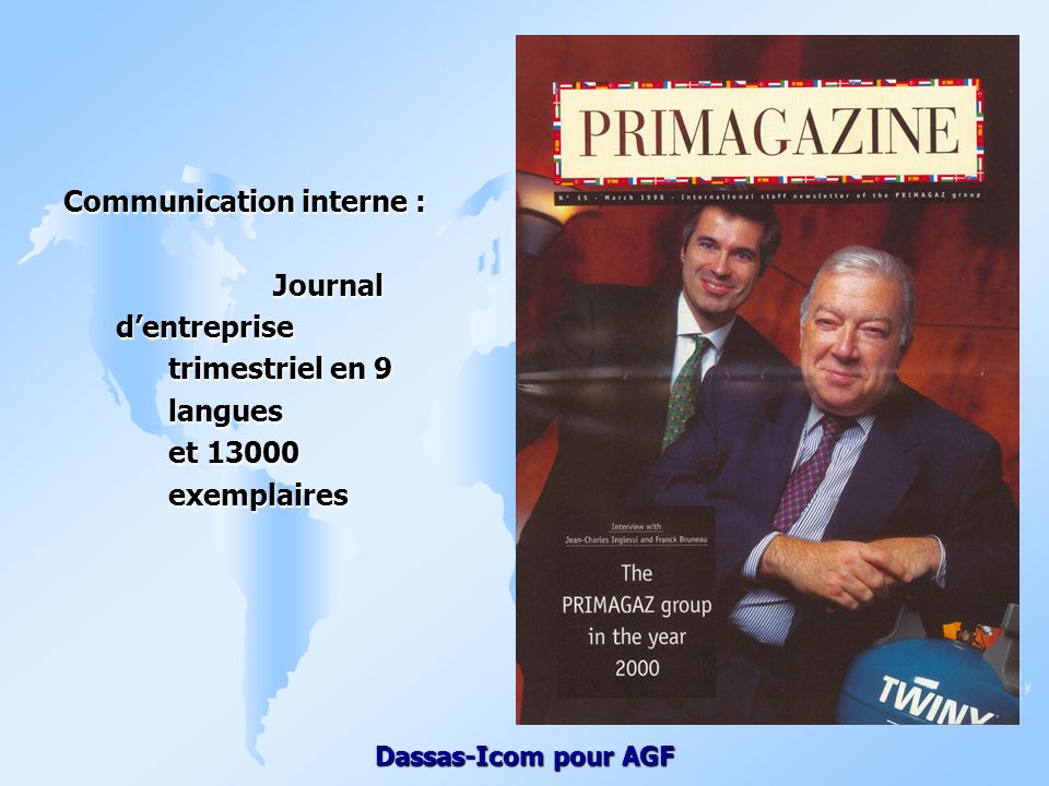 Communication interne :