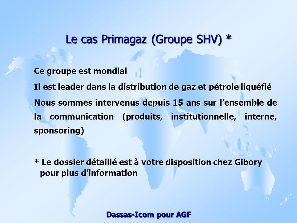 Le cas Primagaz (Groupe SHV) *
