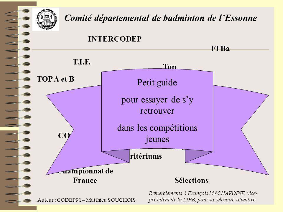 Comité départemental de badminton de l'Essonne