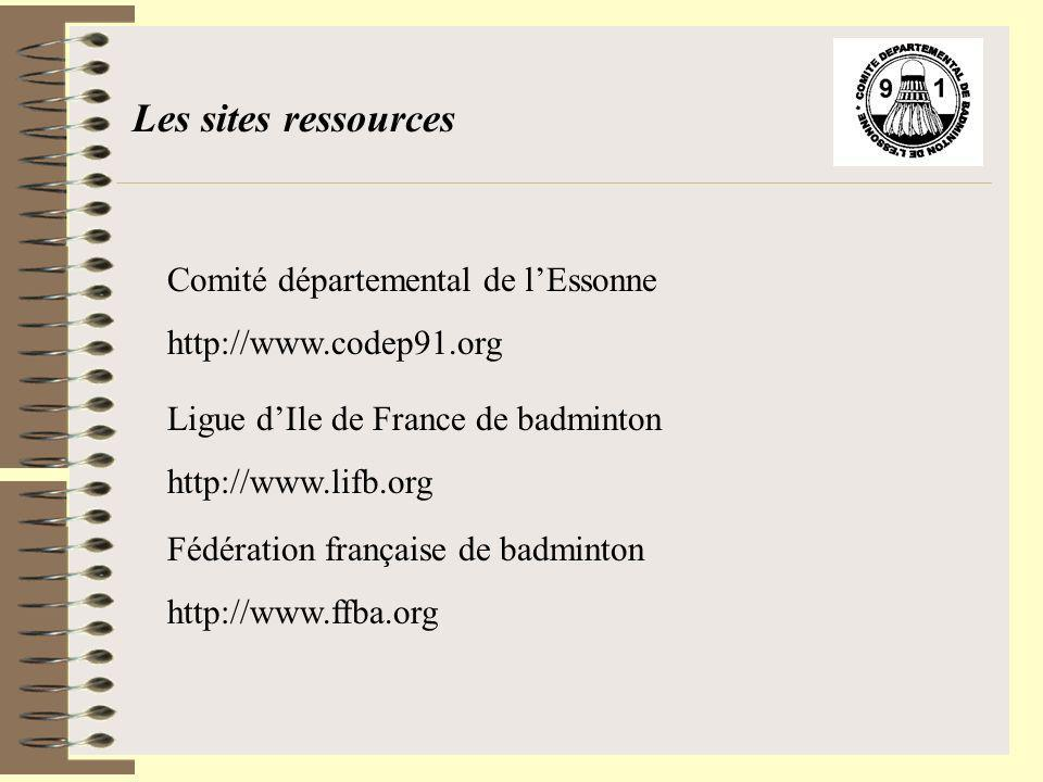 Les sites ressources Comité départemental de l'Essonne