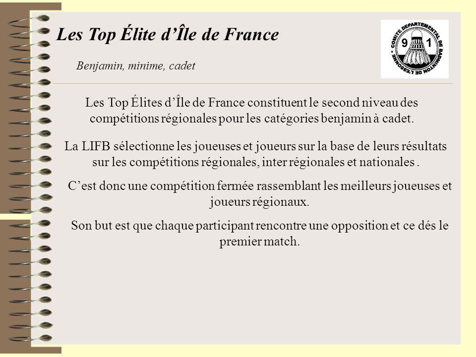 Les Top Élite d'Île de France