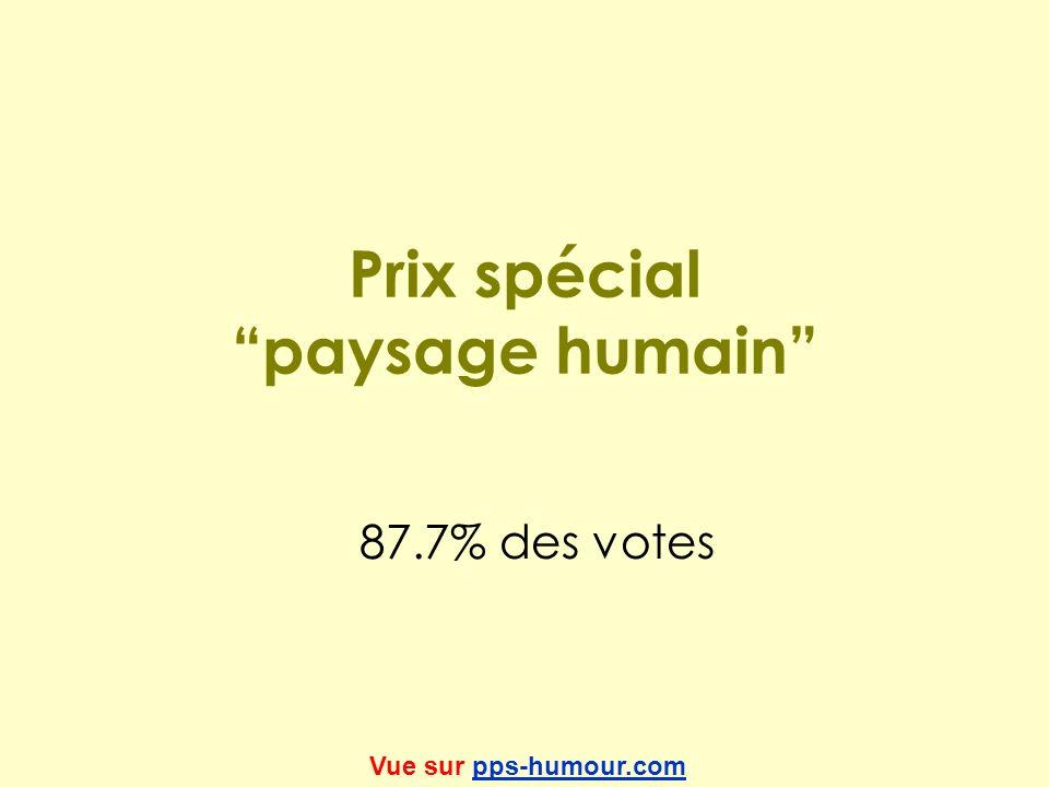 Prix spécial paysage humain