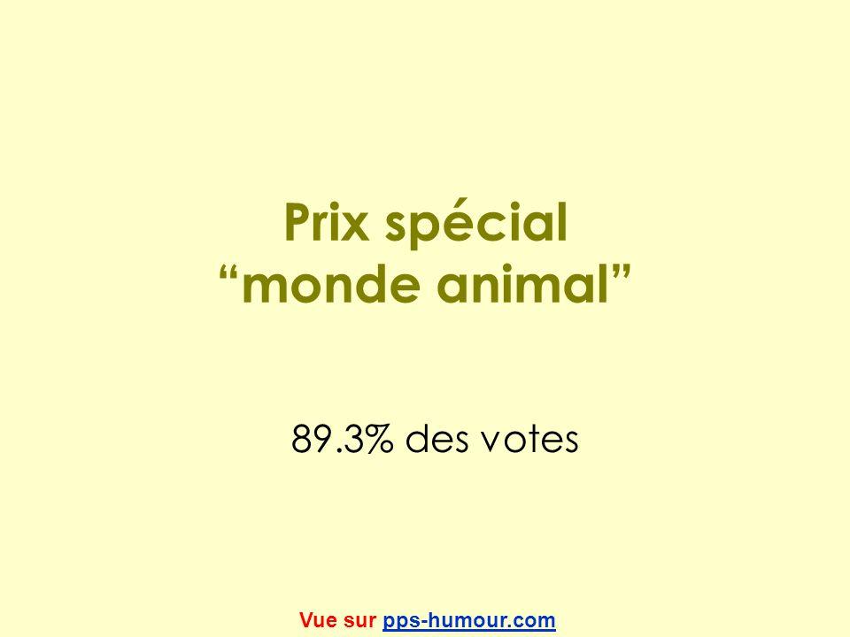 Prix spécial monde animal