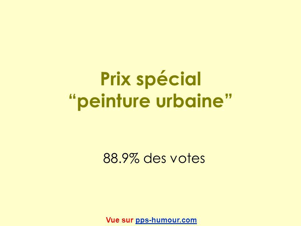Prix spécial peinture urbaine