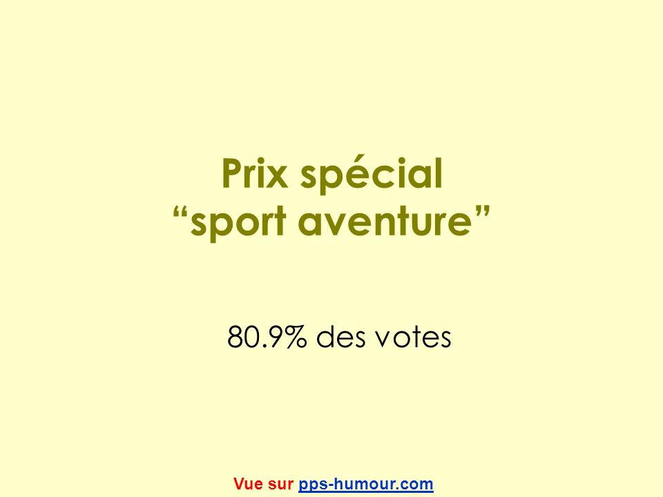 Prix spécial sport aventure
