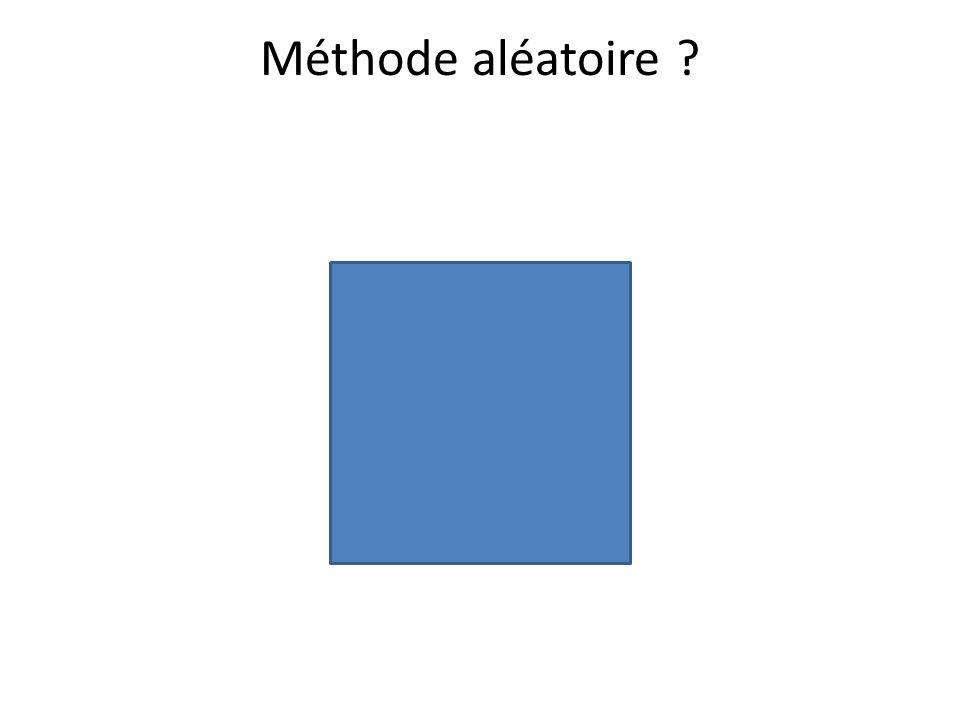 Méthode aléatoire
