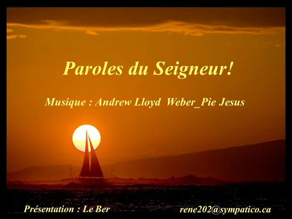 Musique : Andrew Lloyd Weber_Pie Jesus