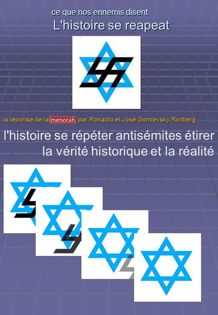 ce que nos ennemis disent L histoire se reapeat