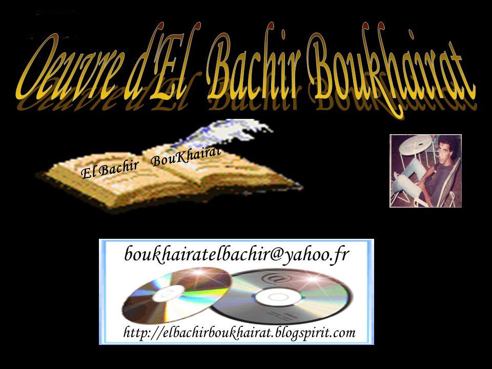 Oeuvre d El Bachir Boukhairat