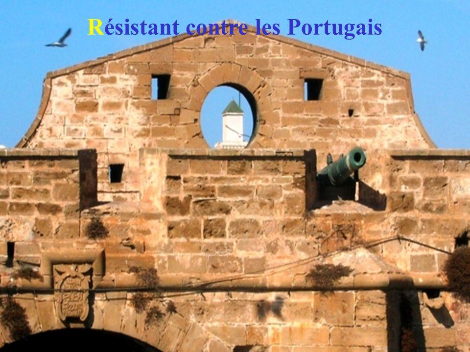 Résistant contre les Portugais