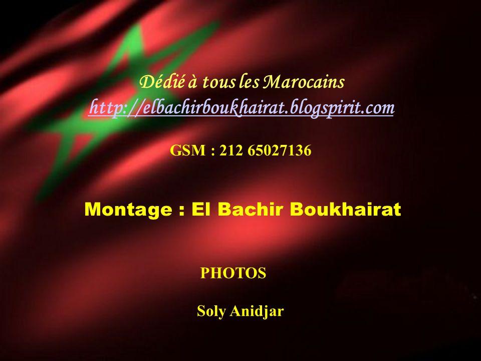 Dédié à tous les Marocains