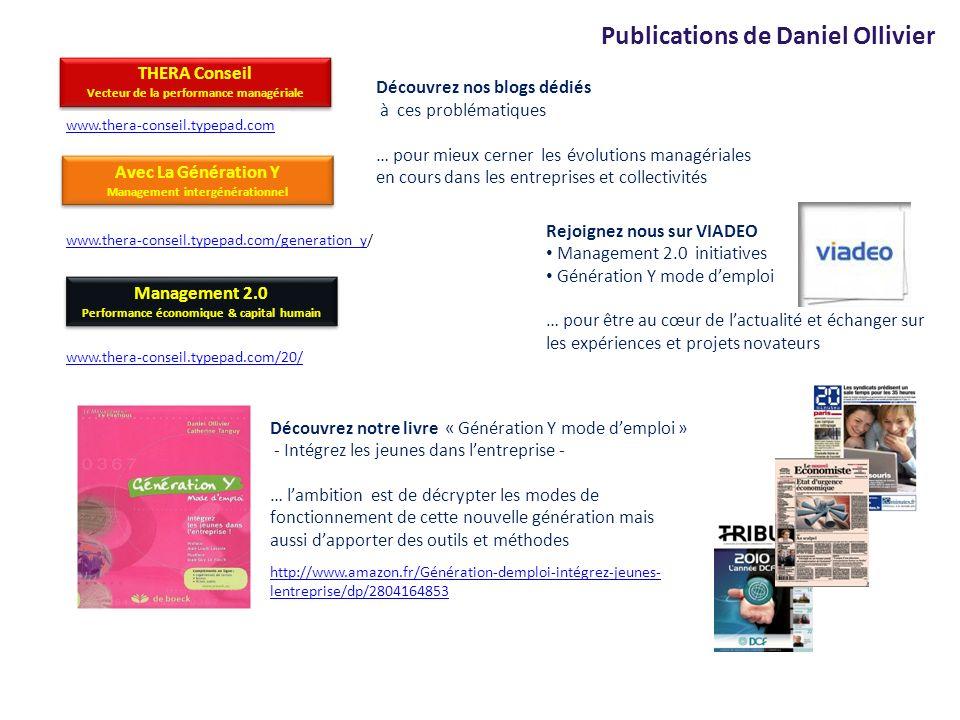Publications de Daniel Ollivier
