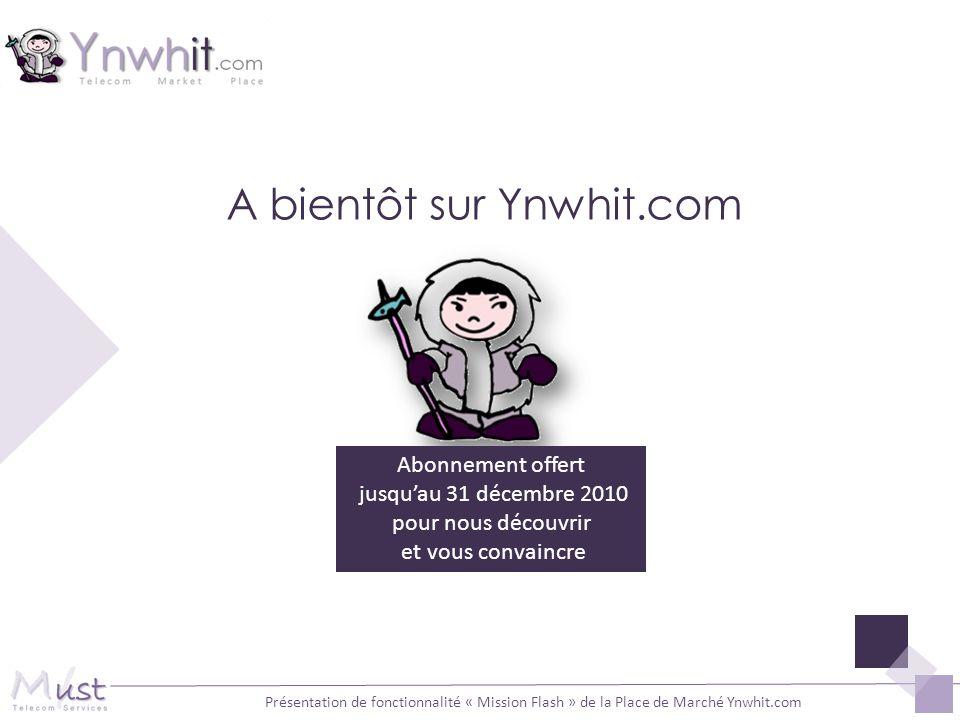 A bientôt sur Ynwhit.com