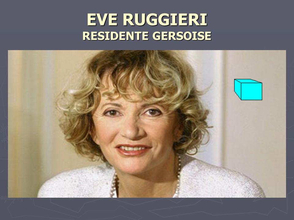EVE RUGGIERI RESIDENTE GERSOISE