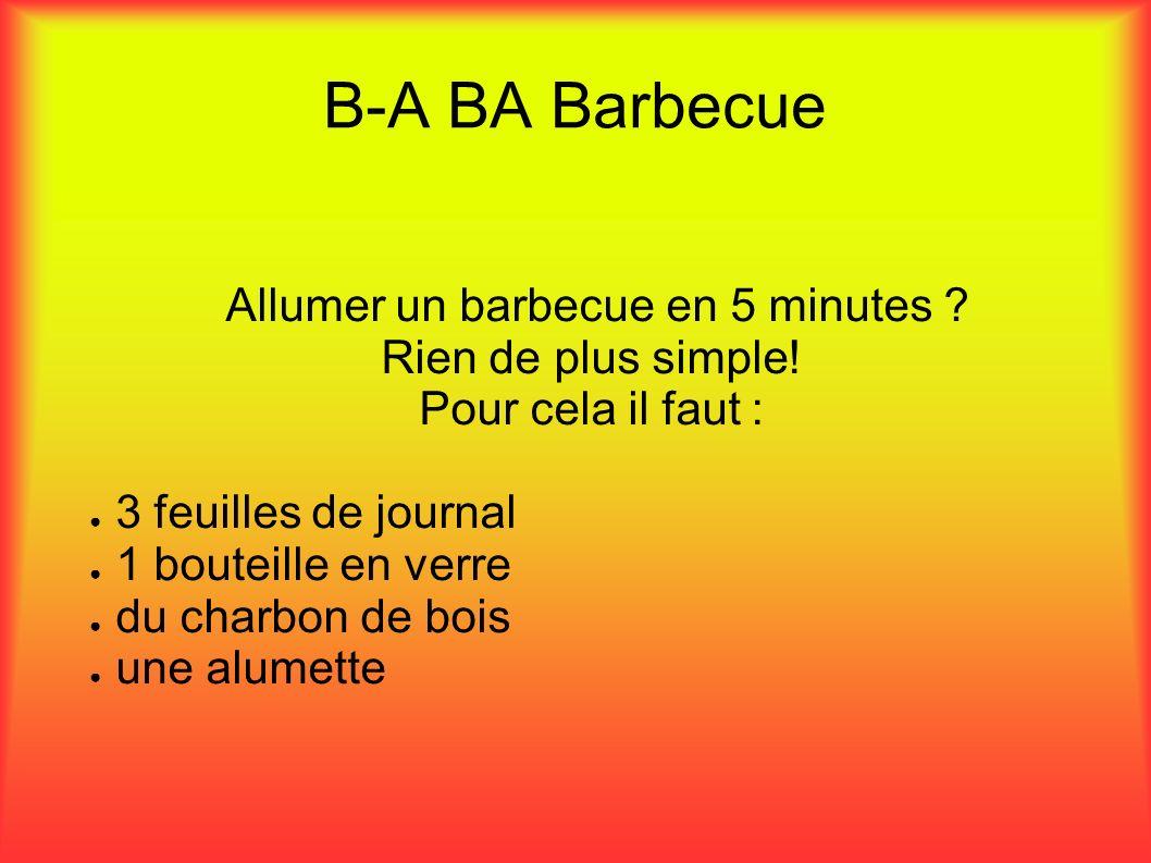 Allumer un barbecue en 5 minutes