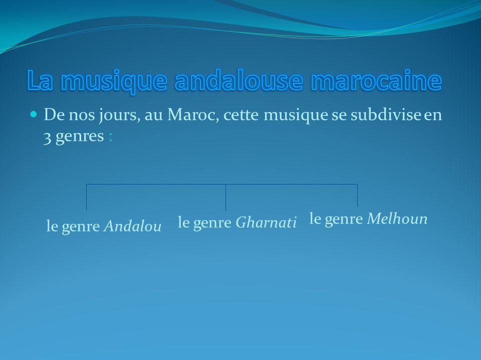 La musique andalouse marocaine