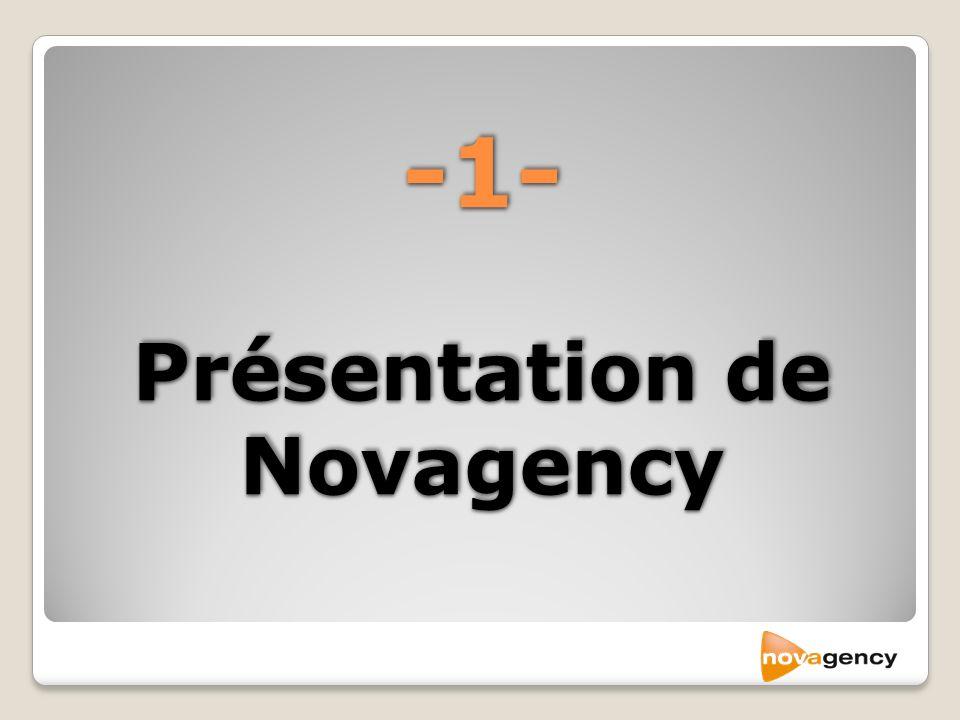 -1- Présentation de Novagency