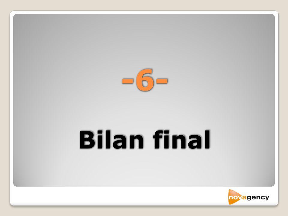 -6- Bilan final