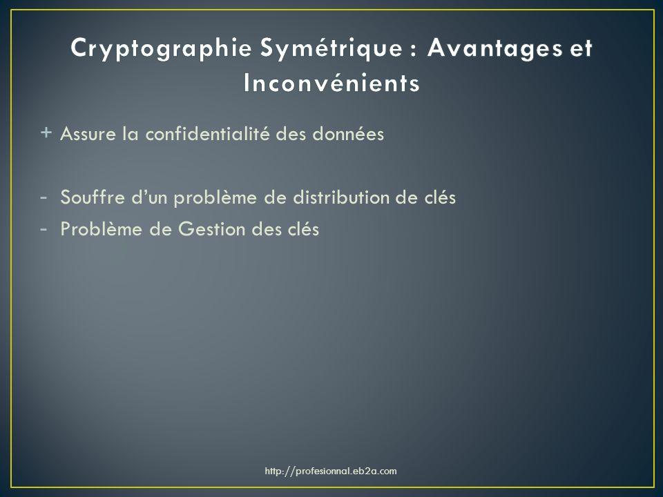 Cryptographie Symétrique : Avantages et Inconvénients