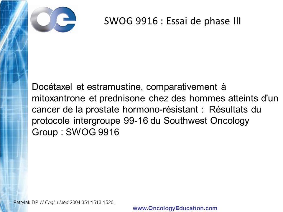 SWOG 9916 : Essai de phase III