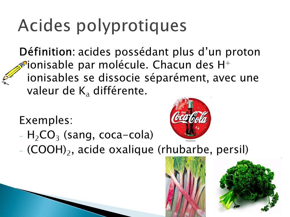 Acides polyprotiques