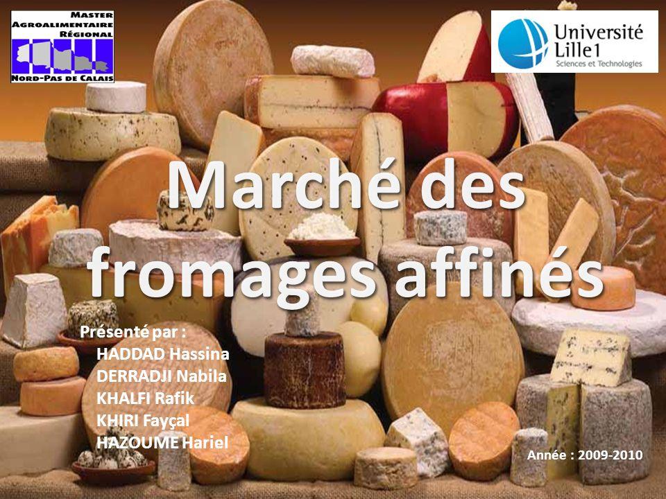 Marché des fromages affinés