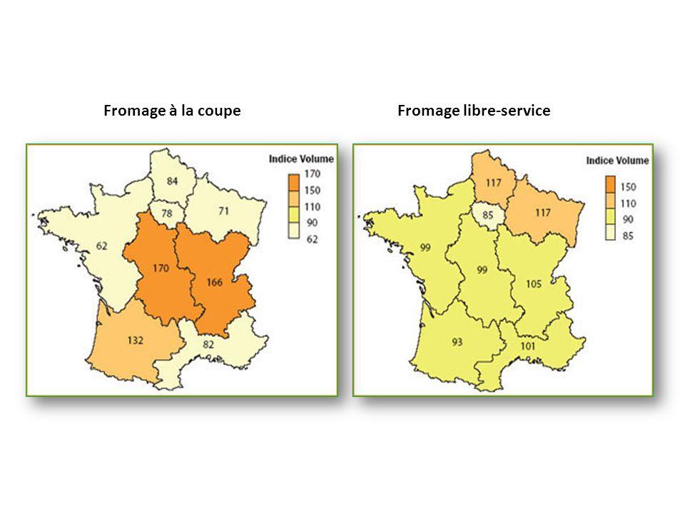 Fromage à la coupe Fromage libre-service