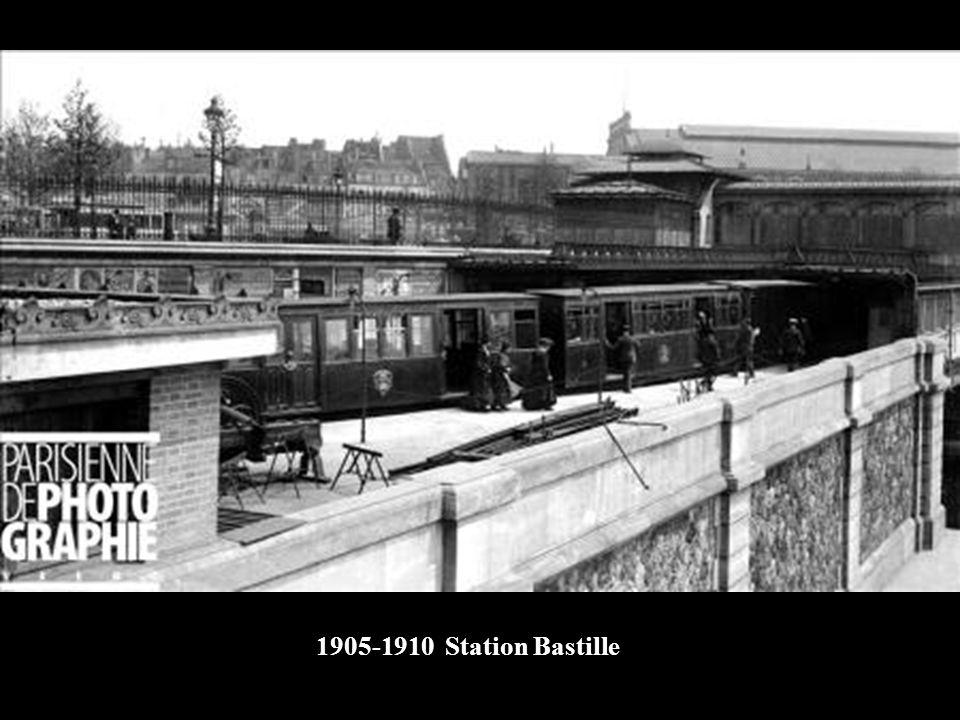 1905-1910 Station Bastille
