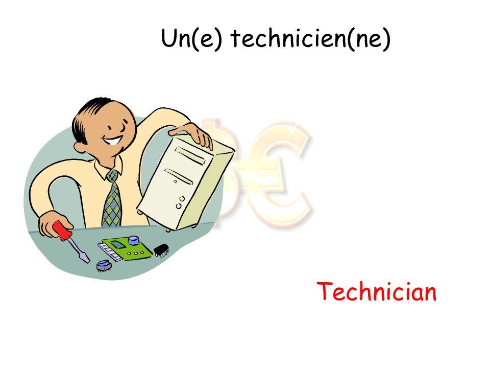 Un(e) technicien(ne) Technician