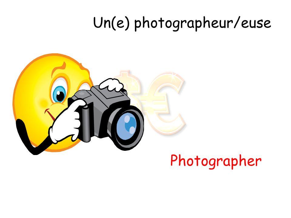 Un(e) photographeur/euse
