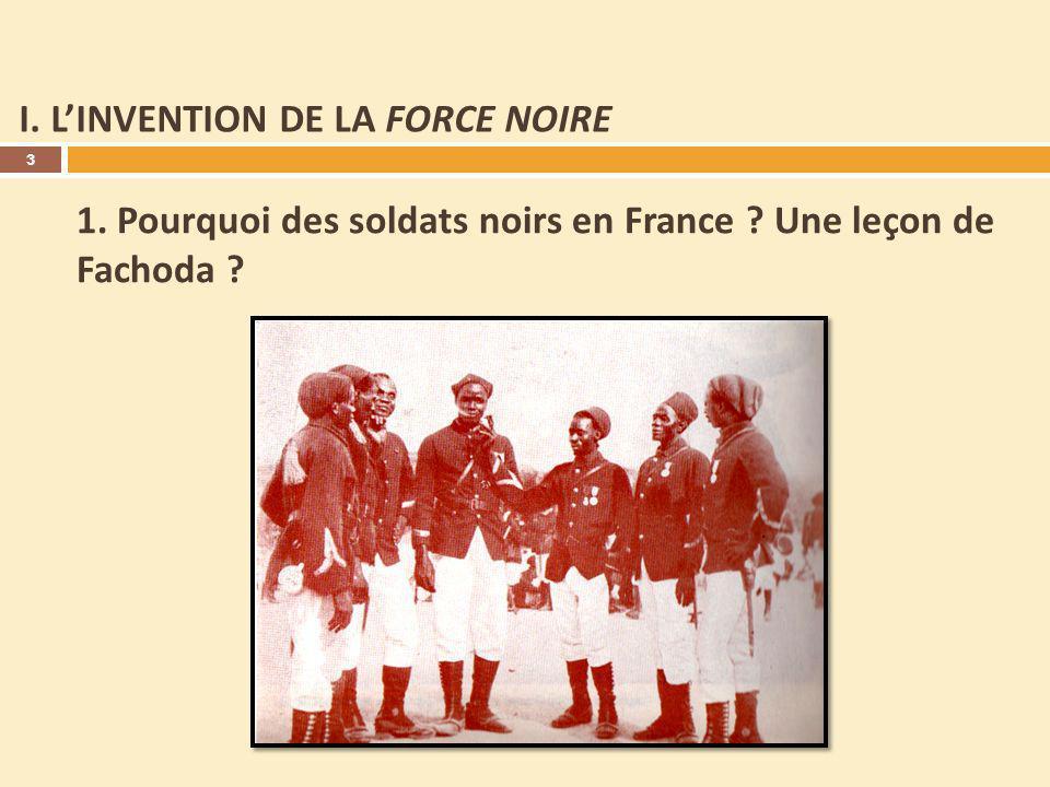 I. L'INVENTION DE LA FORCE NOIRE