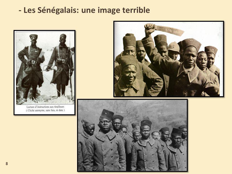 - Les Sénégalais: une image terrible