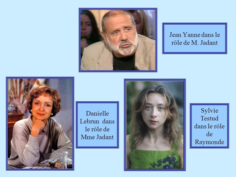 Jean Yanne dans le rôle de M. Jadant