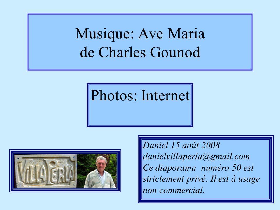 Musique: Ave Maria de Charles Gounod