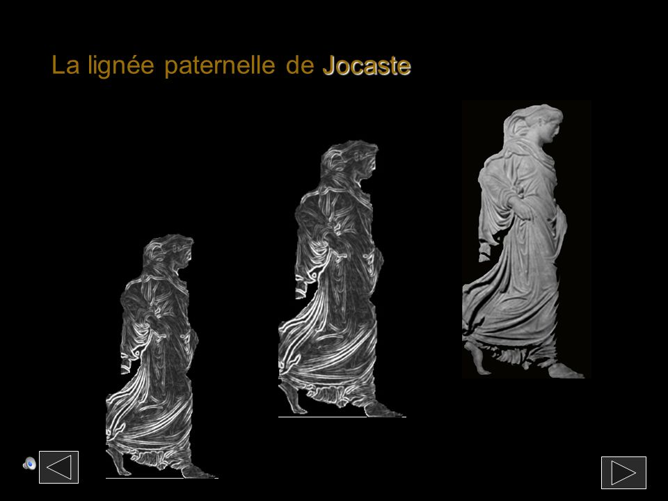La lignée paternelle de Jocaste