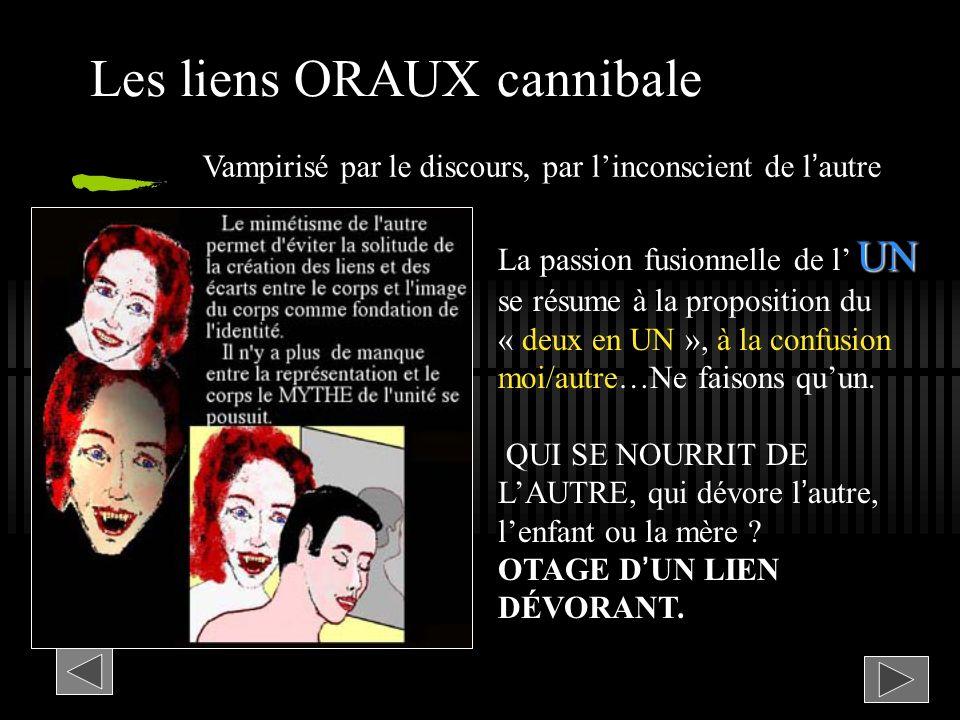 Les liens ORAUX cannibale