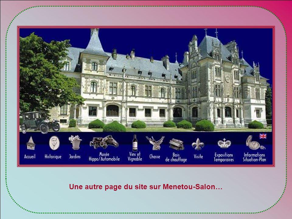 Une autre page du site sur Menetou-Salon…