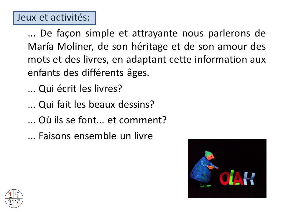 Jeux et activités: ...