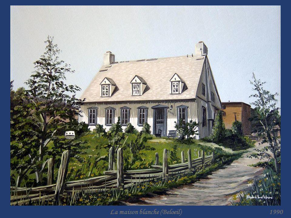 La maison blanche (Beloeil)