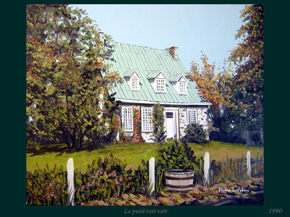 Le petit toit vert 1990