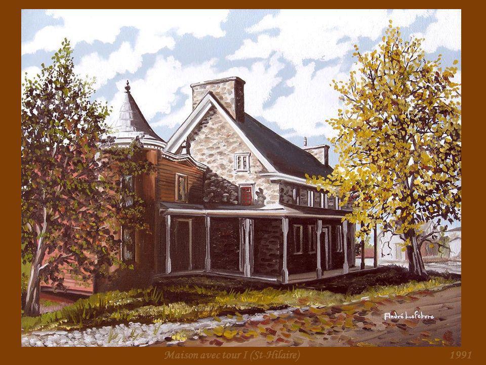 Maison avec tour I (St-Hilaire)