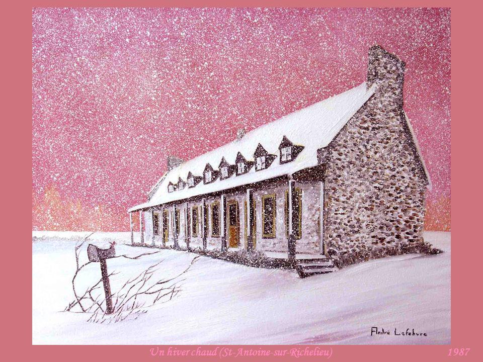 Un hiver chaud (St-Antoine-sur-Richelieu)