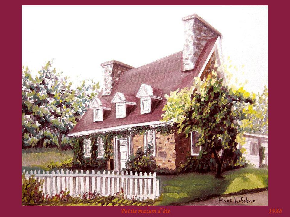 Petite maison d'été 1988