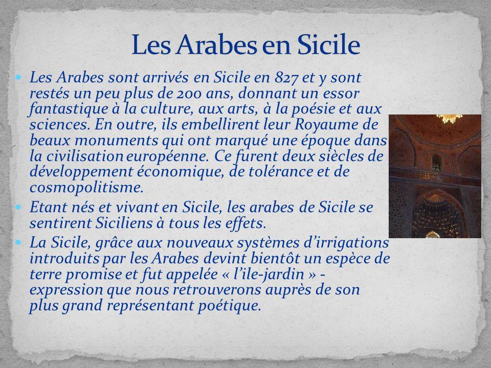 Les Arabes en Sicile