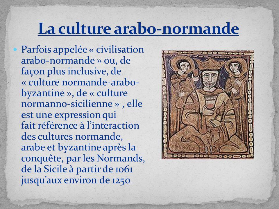 La culture arabo-normande